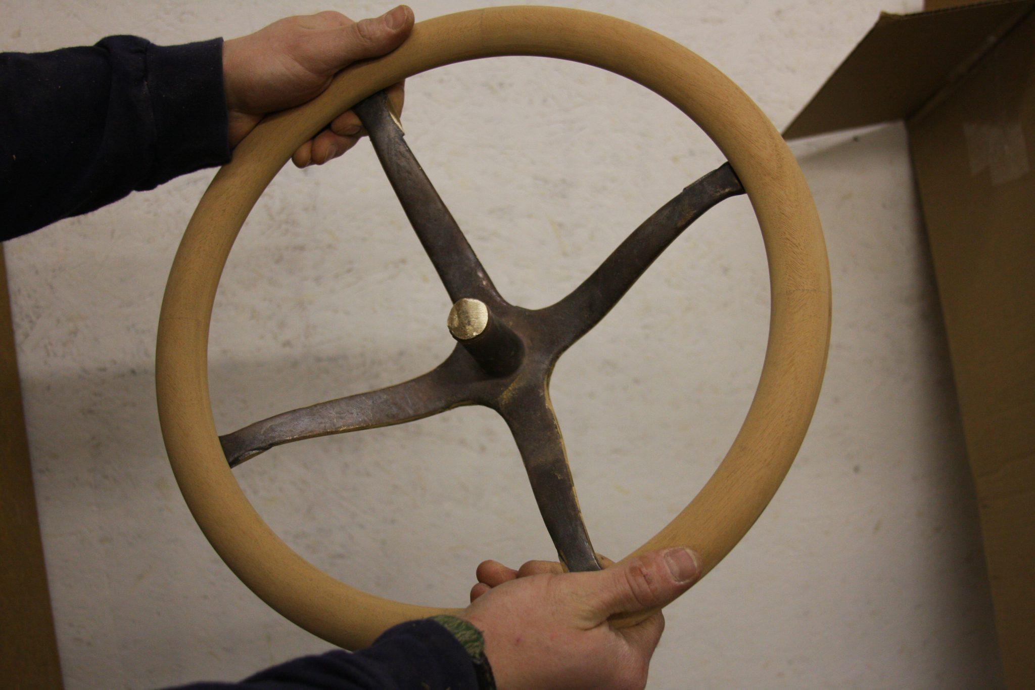 Steering wheel of Madeleine