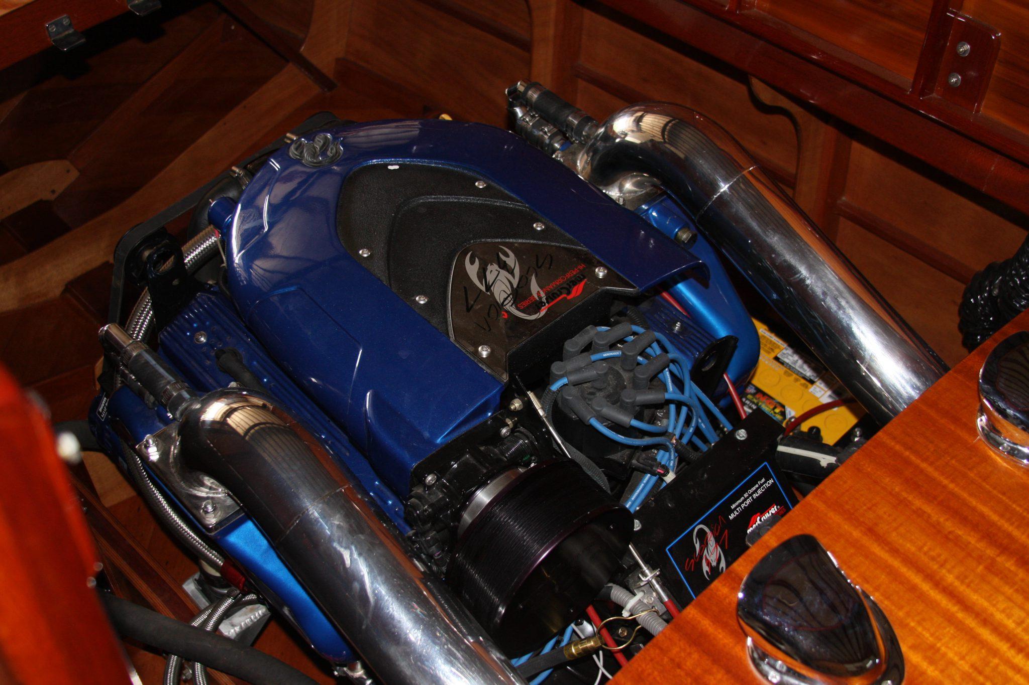 The new engine in Pretty Pattie