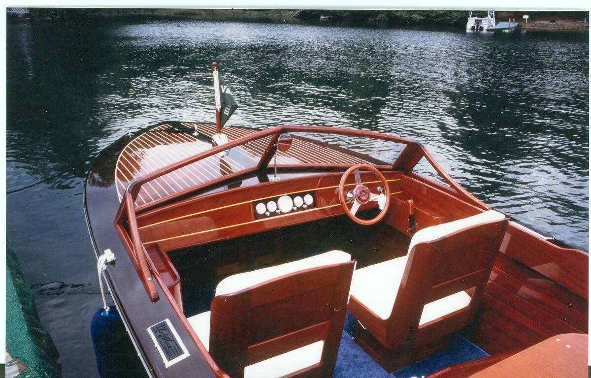 Classic interior of Lady Anne