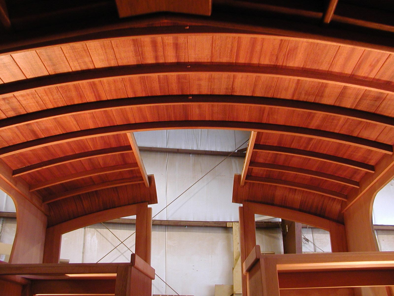 Interior view of cabin top Nokomis