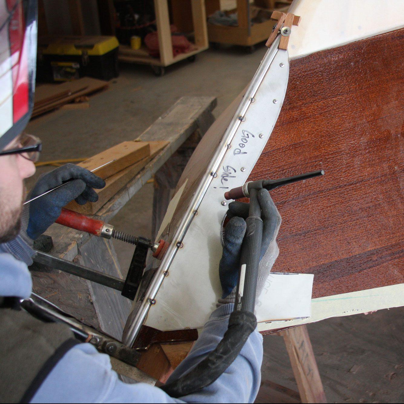 spot welding cutwater