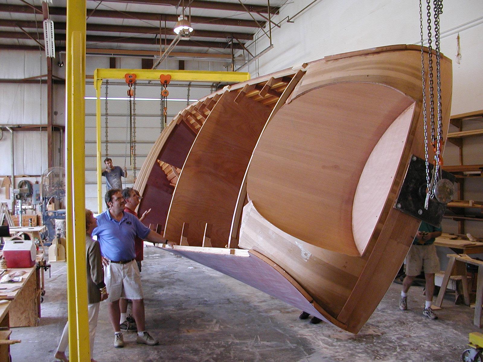 Rolling hull of Susan C