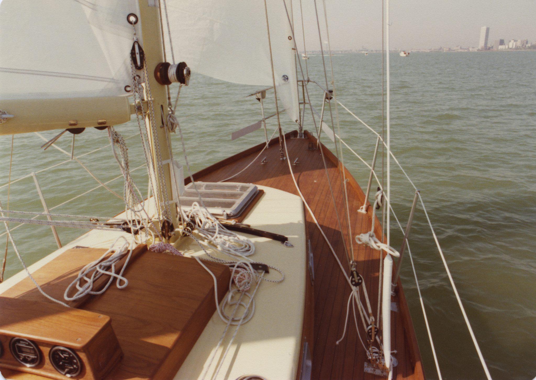 Silvan at sea