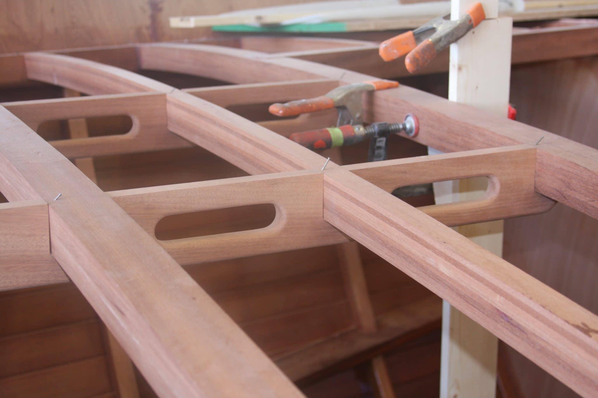 Deck construction detailing