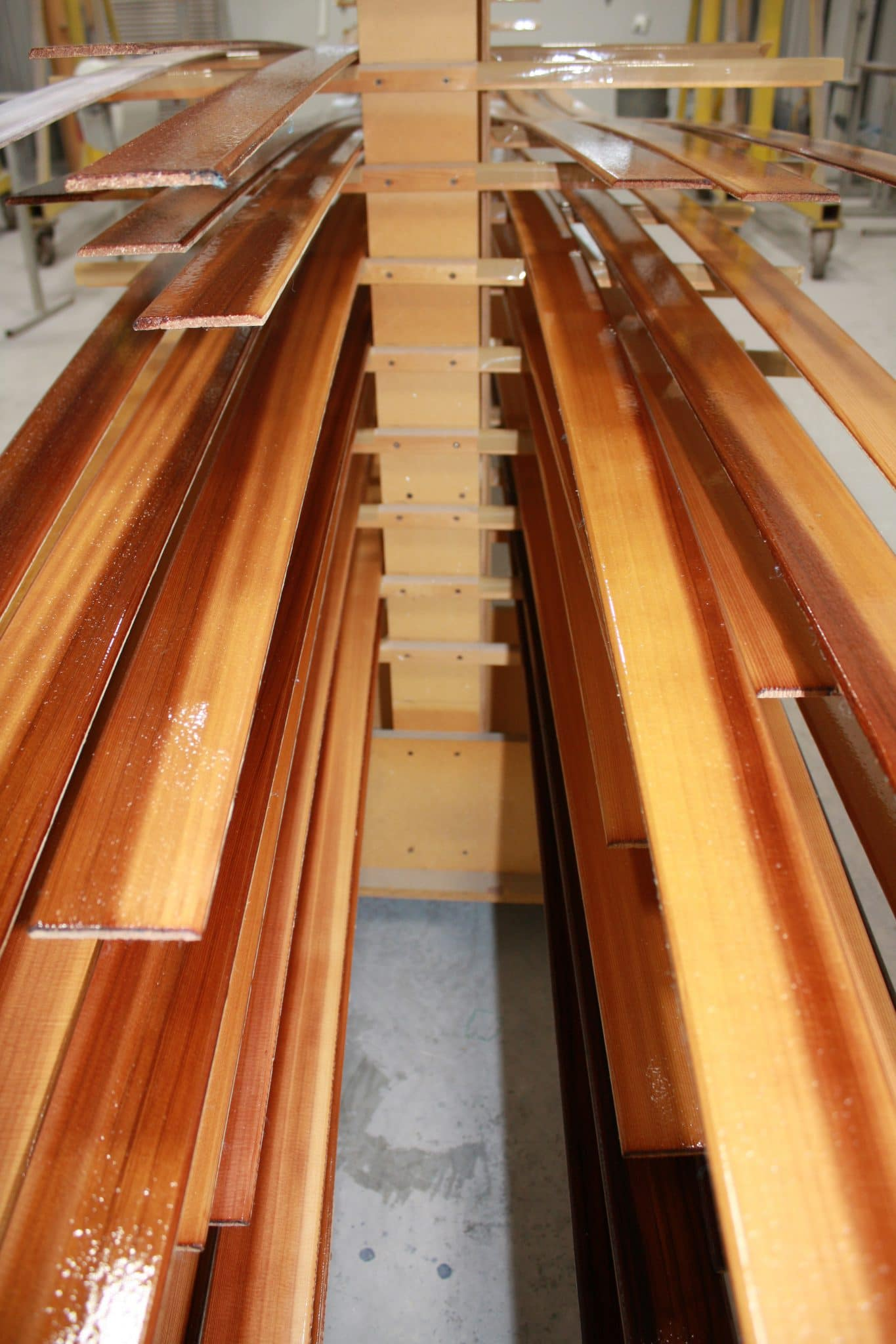 Italmas interior cabin boards