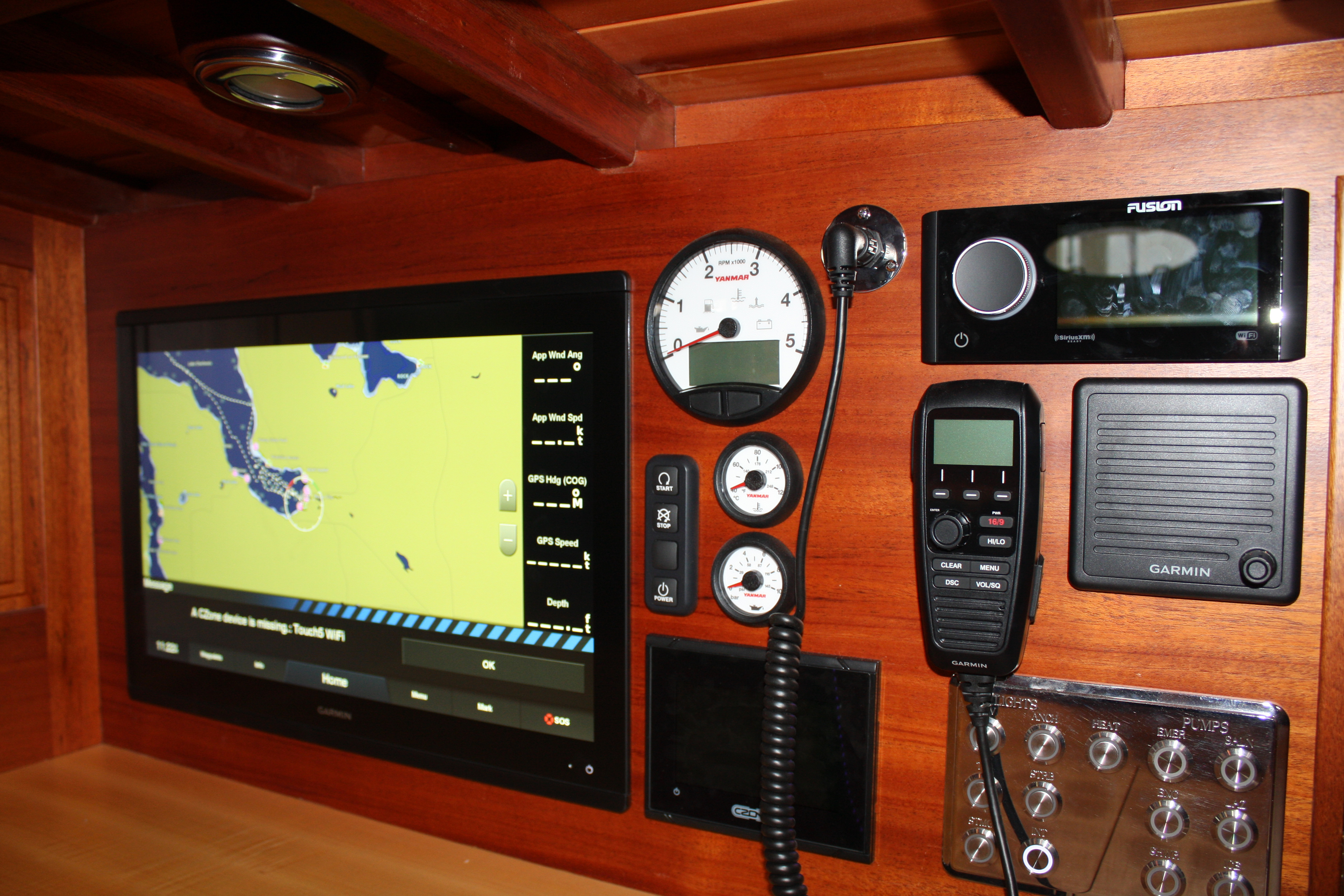 State of the art technology for navigational aid on Italmas