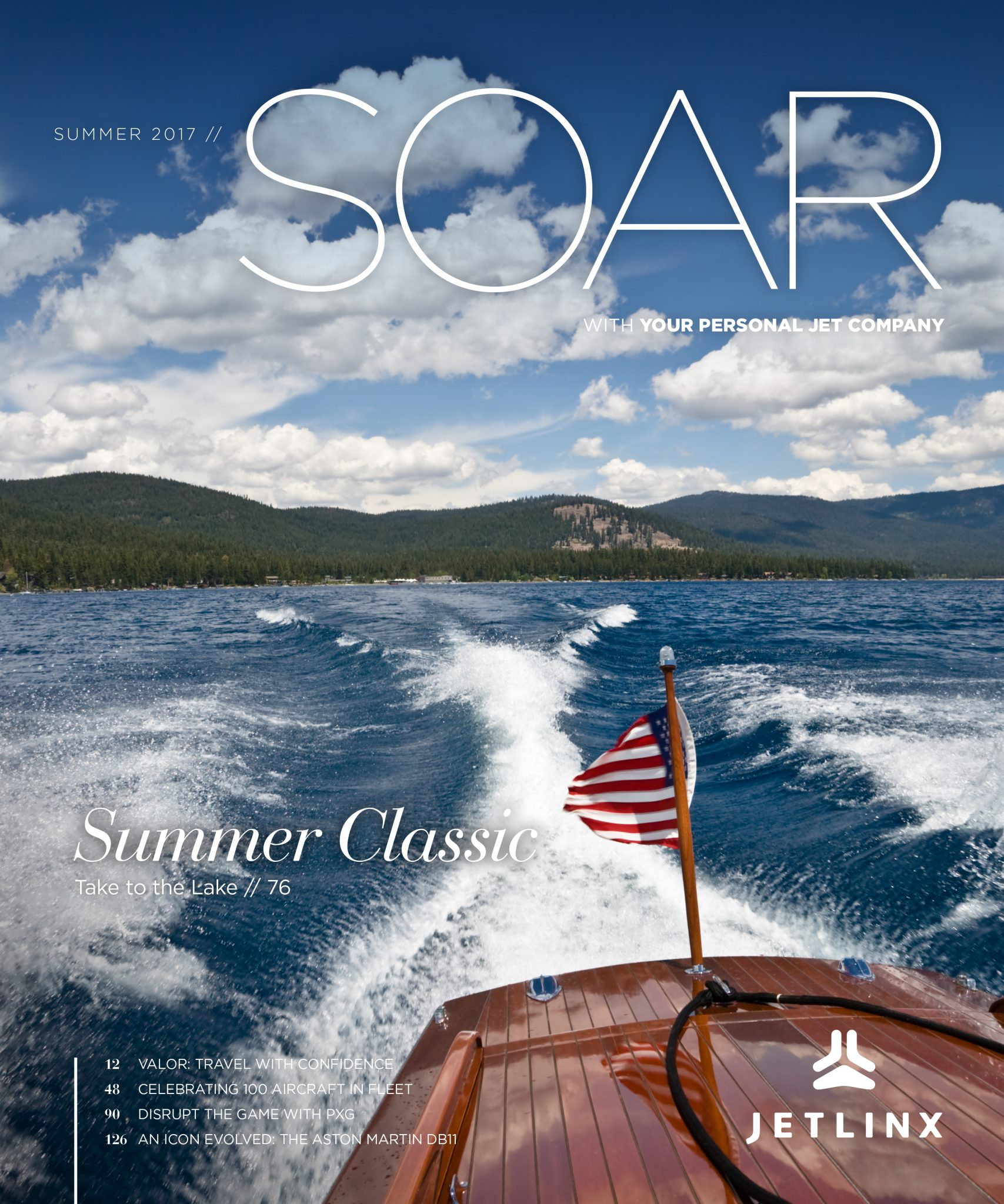 Cover of Soar magazine.