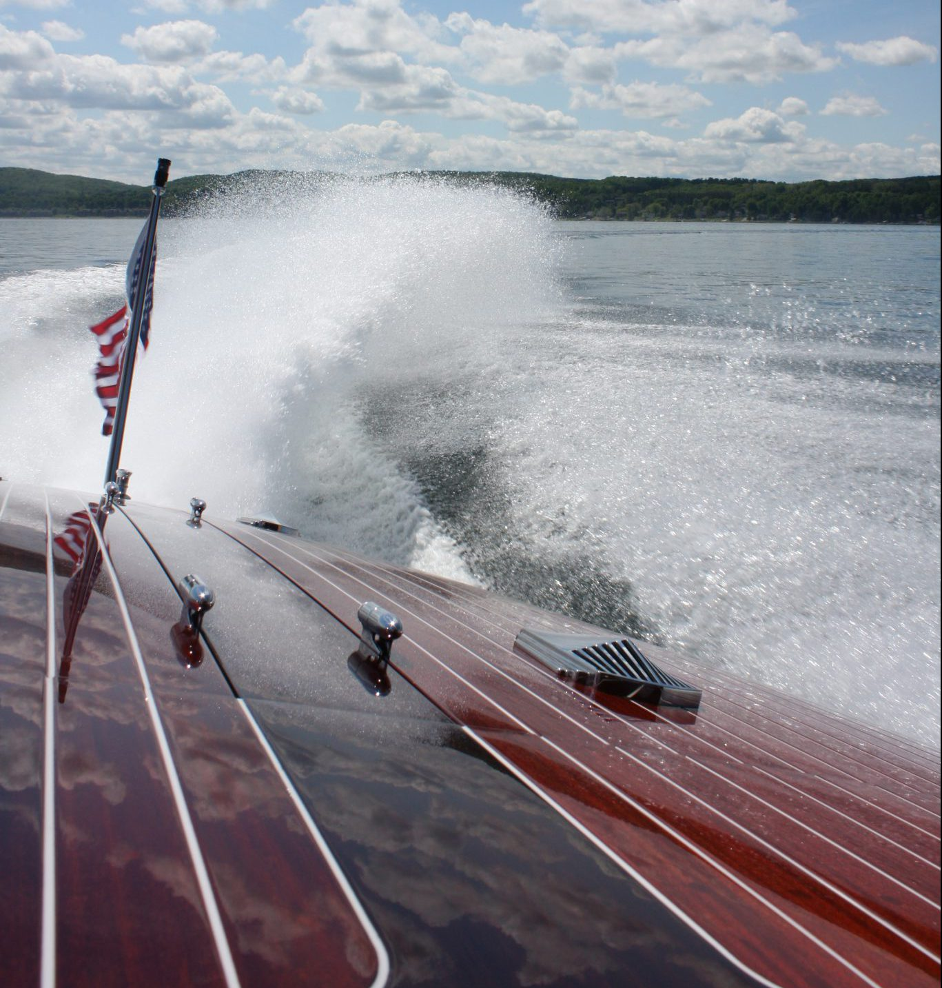 Throwing a wake on Lake Charlevoix