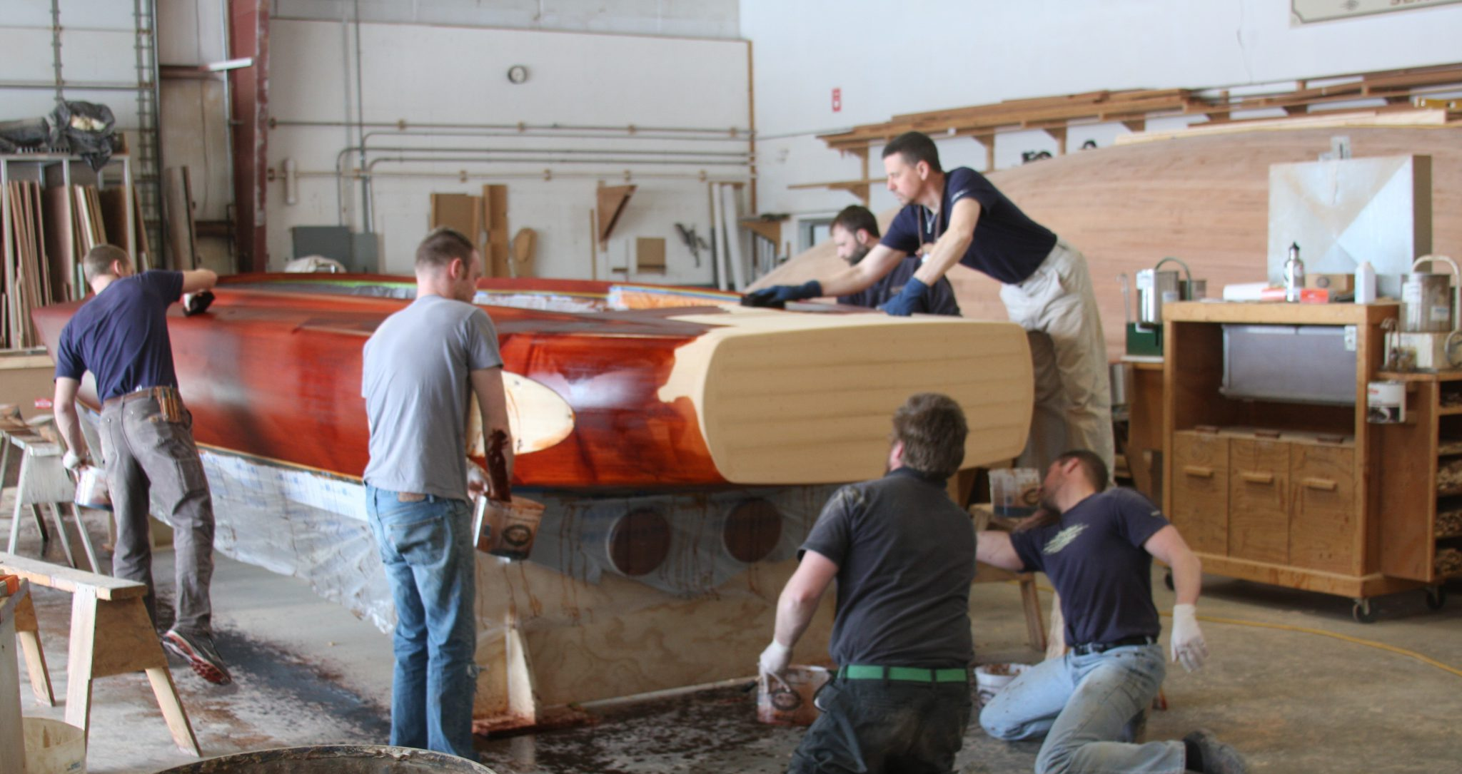 Color being added to VZ hull