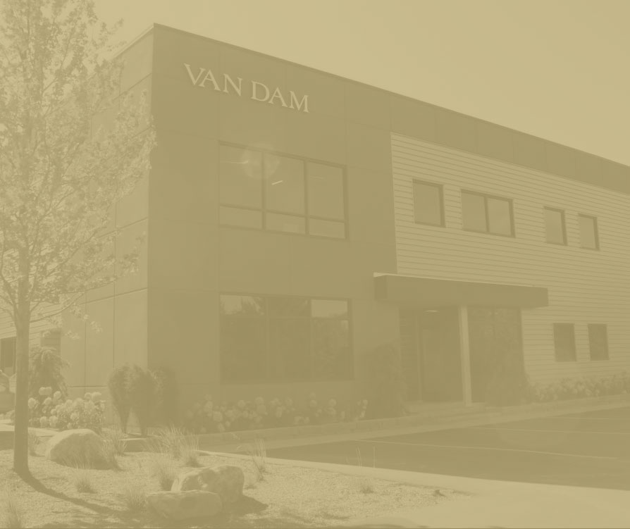 Van Dam building exterior photo.