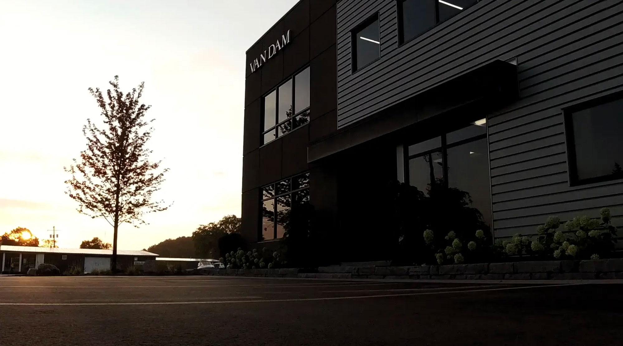 Van Dam headquarters.